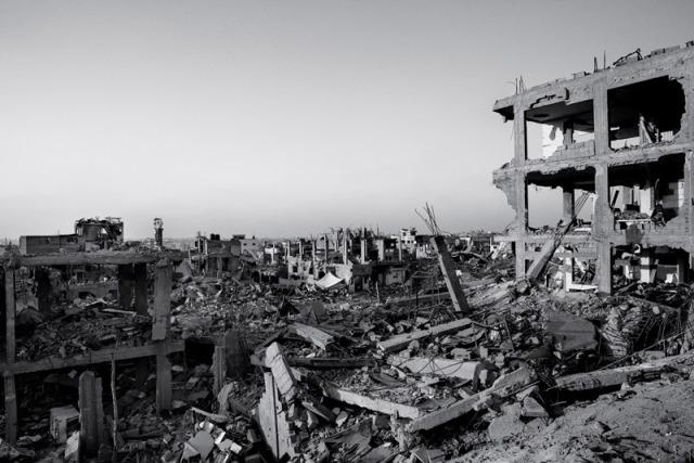 Het immer gezellige Gaza