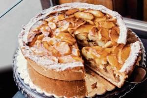 Allerhande het beste recept appeltaart bakkerij Holtkamp Vijzelgracht 15 1017 HM Amsterdam Bakker Nico met vrouw Angela Holtkamp